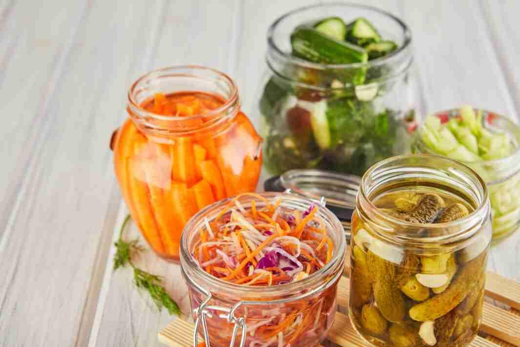 Fermented preserved vegetarian food